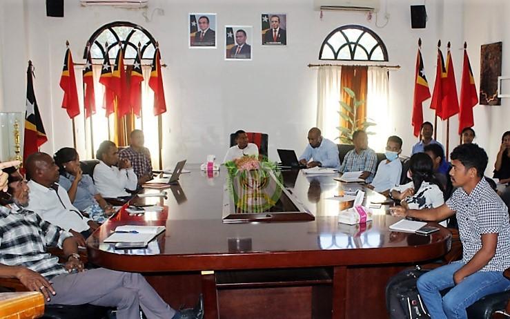 S.E Abrao Saldanha Loke Workshop Kurrikulu ba Parlamentu Foinsae